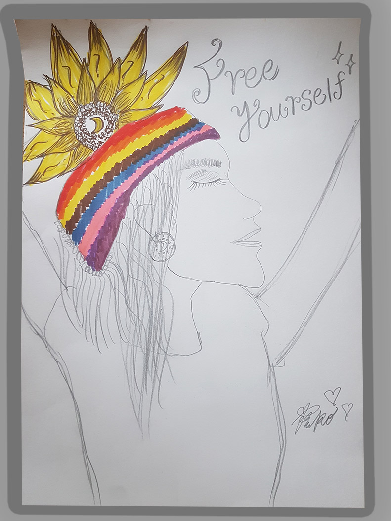Textile Forensik 'Free yourself' by KIKO