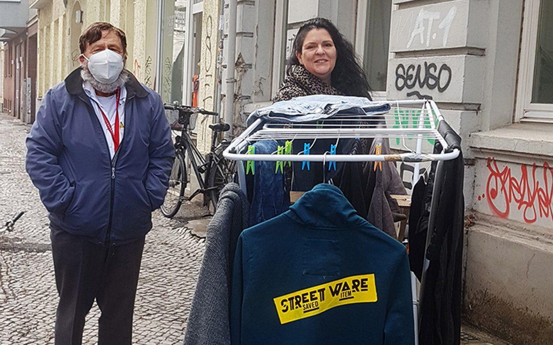 STREET shopping – Stadtführung am Wäscheständer