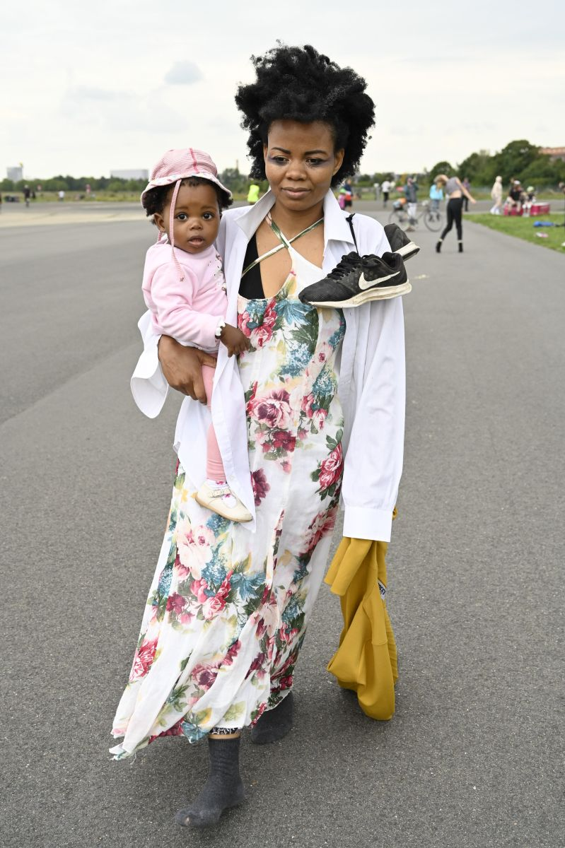 sara Tivane & daughter ©Anja Grabert